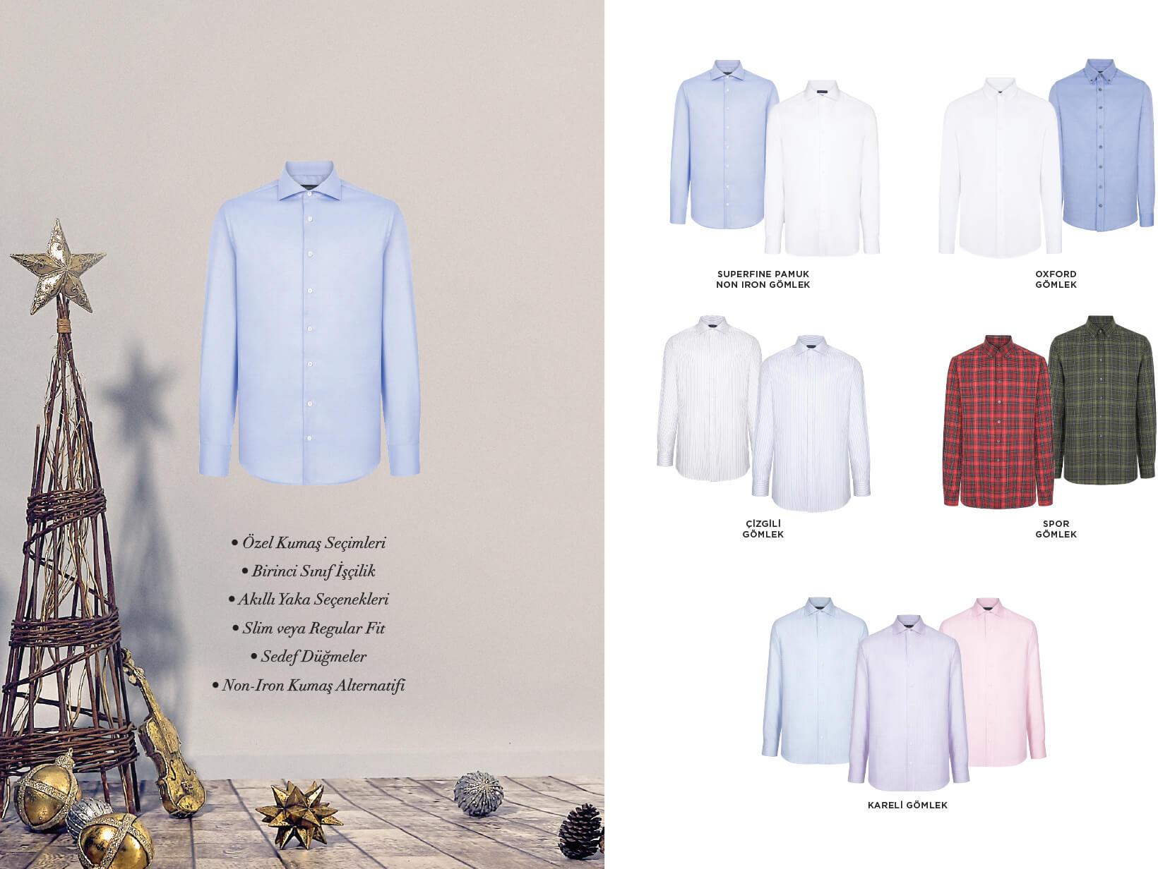 Hediye Alınabilecek Gömlekler