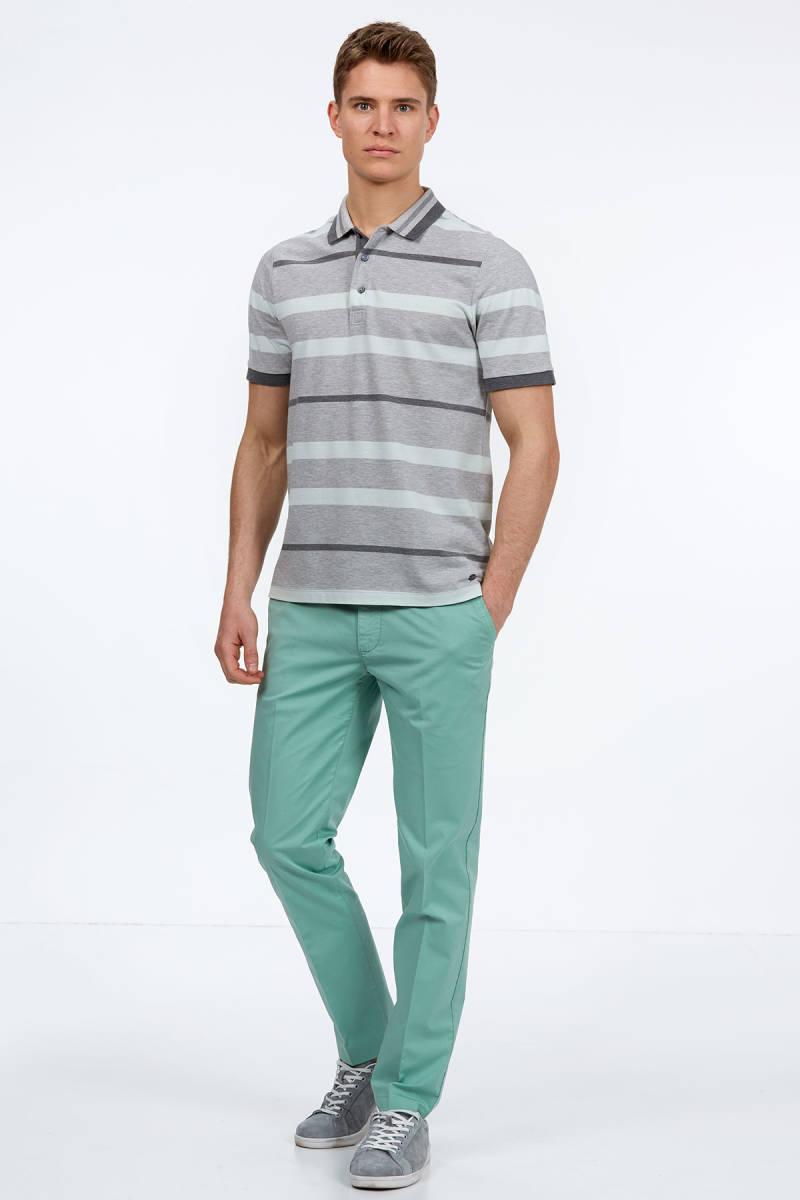 Hemington - Gri Polo Yaka T-Shirt (1)